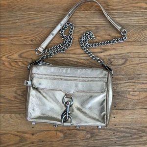 Rebecca Minkoff Mini MAC Bag - gold